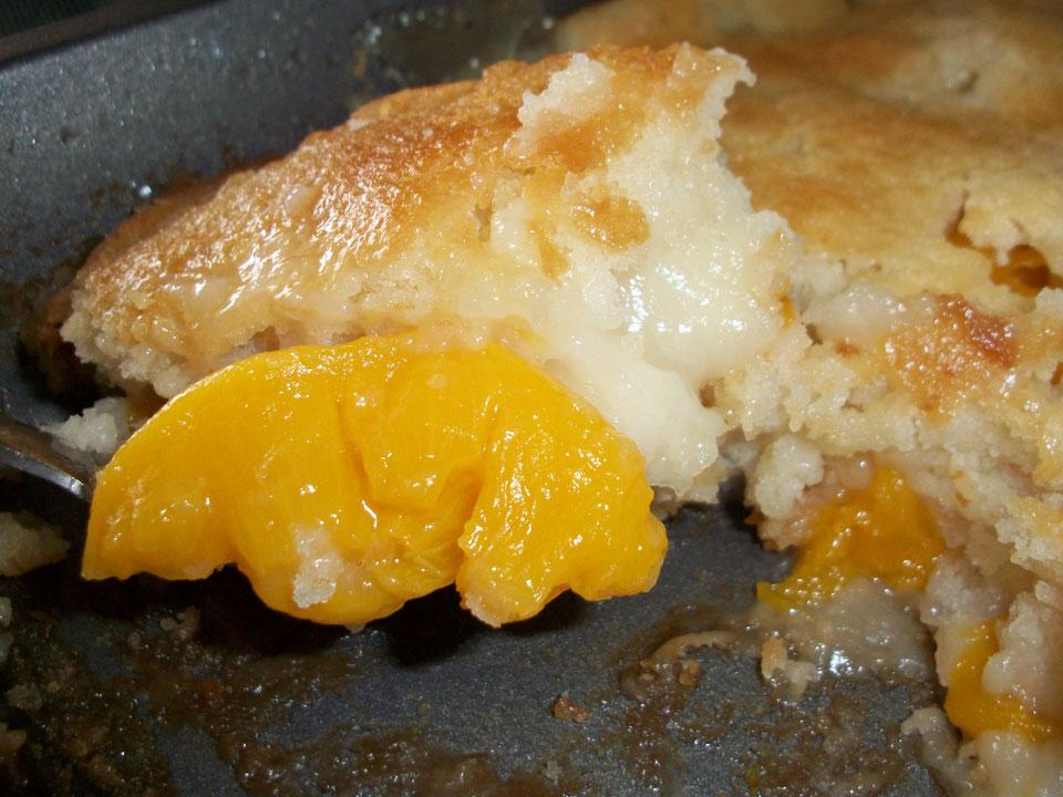 Lark's Recipe of the Week: Peach Cobbler