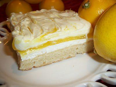 Lark's Recipe: Lemon Lush