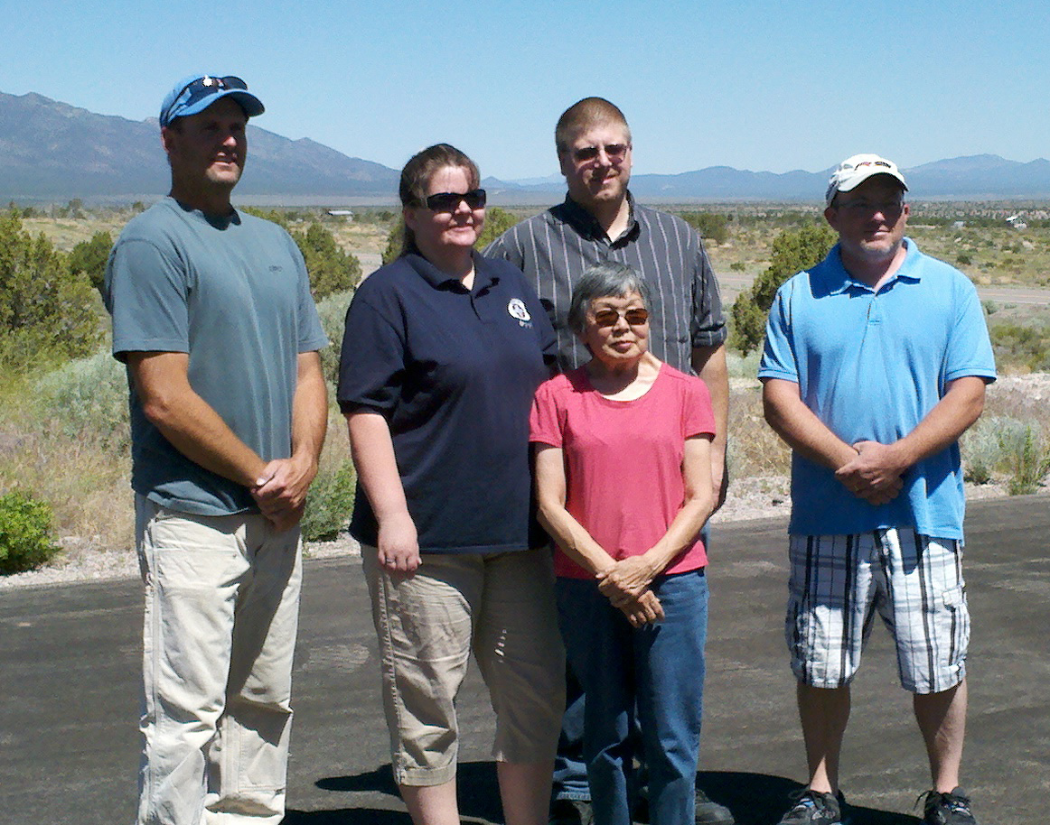 Survivor of tragic 2011 car accident returns to Pioche to thank responders