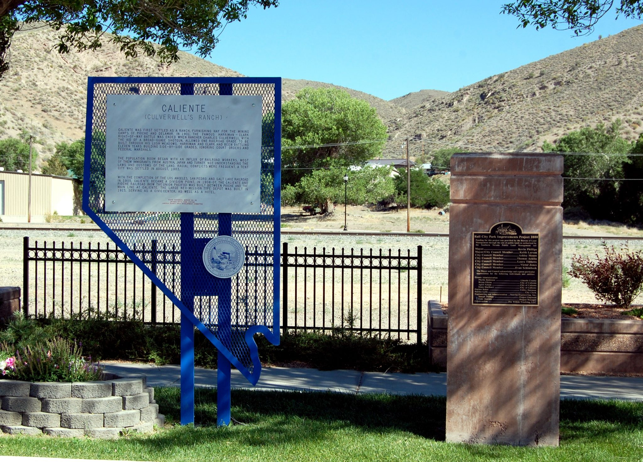 Caliente historical marker remembered