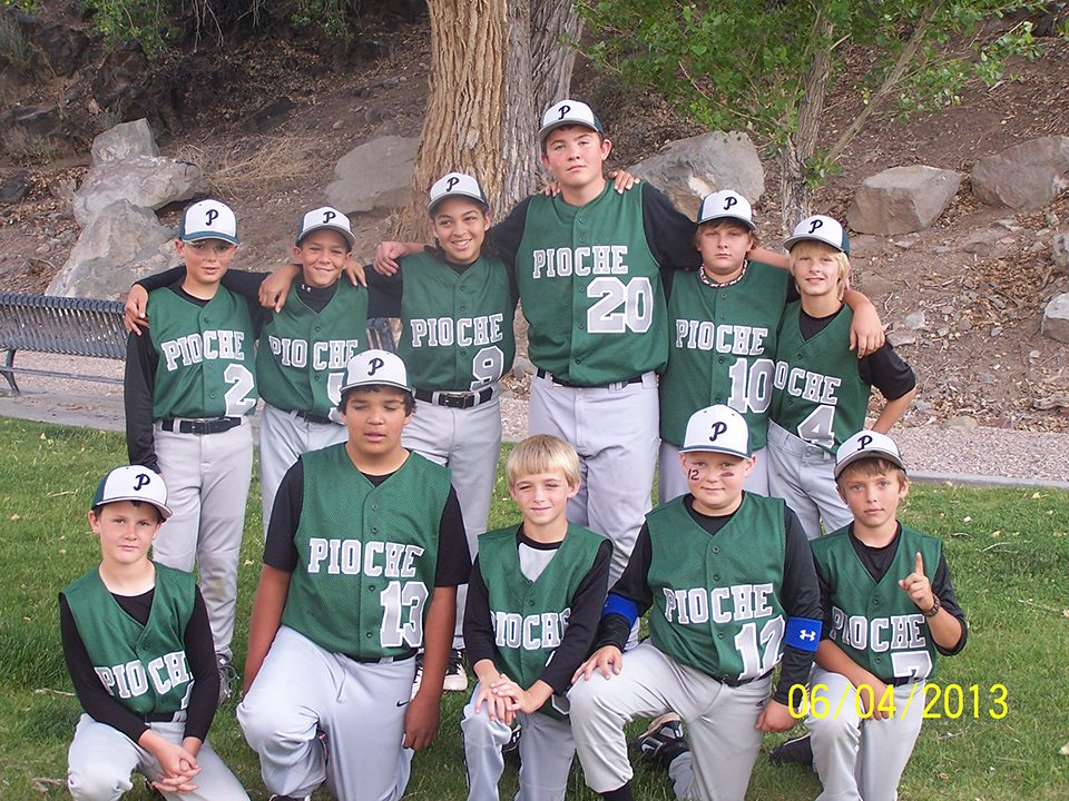 Pioche Little League team finishes season undefeated