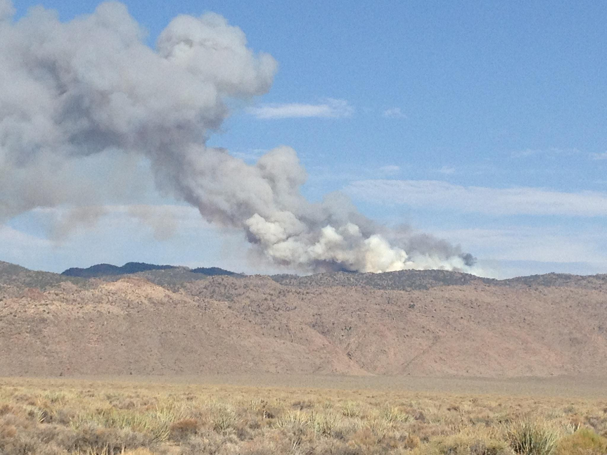 Wildfire season begins with two blazes