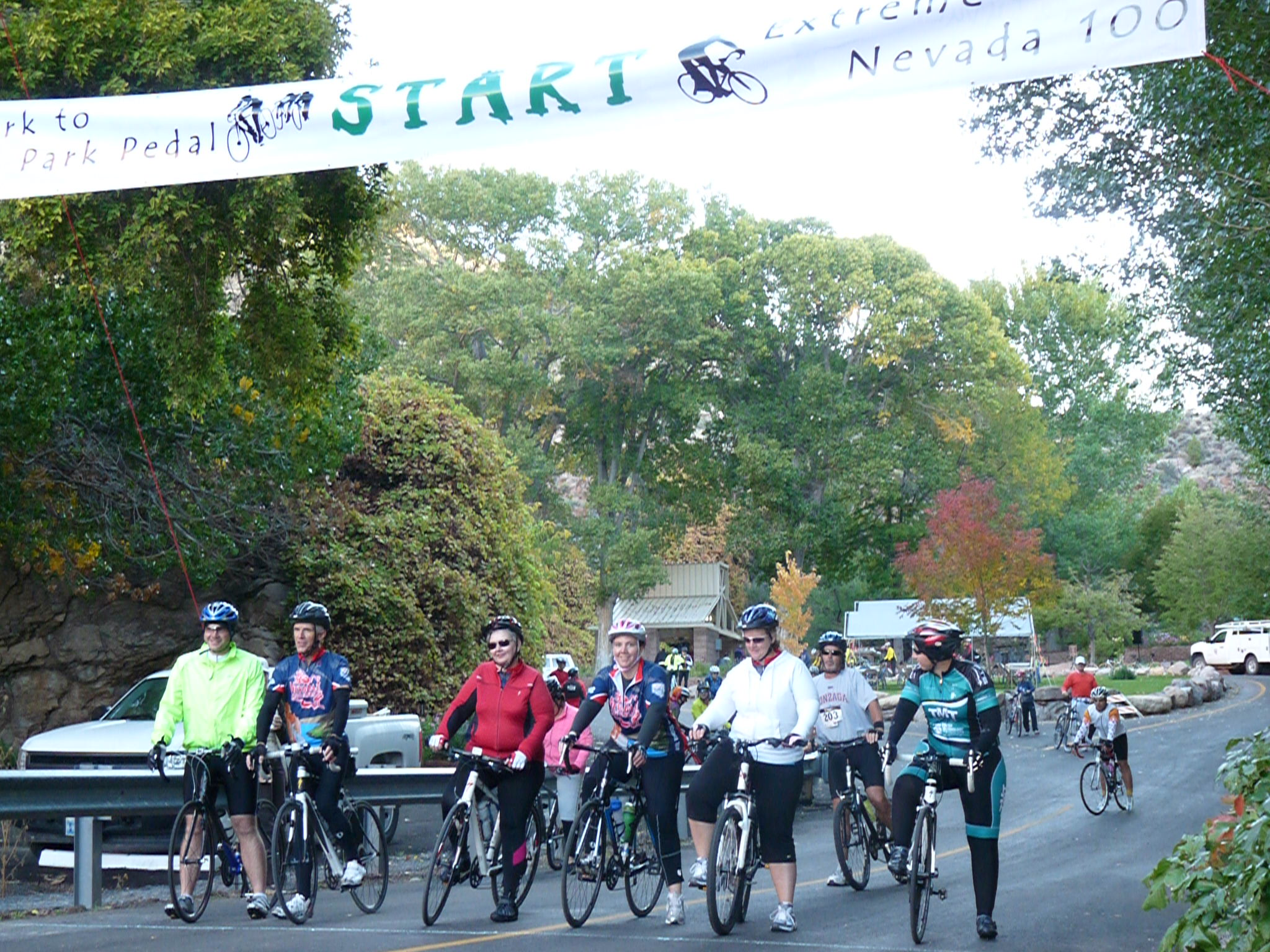 Park to Pedal event set