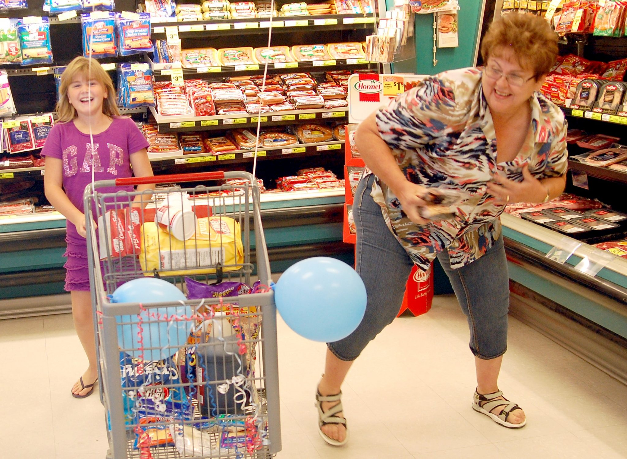 Local woman competes in shopping spree