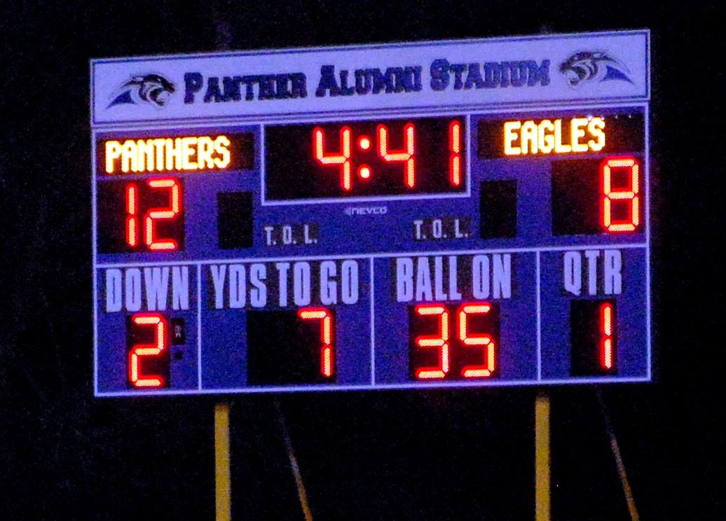 PVHS unveils new scoreboard