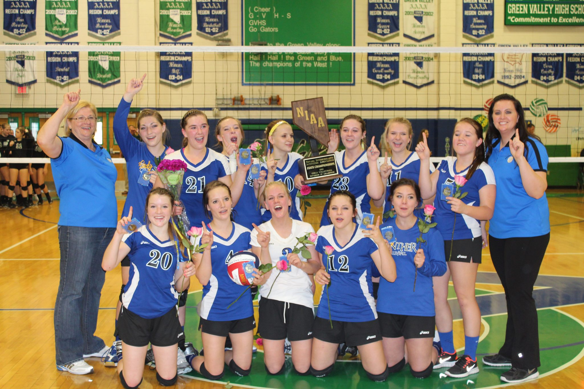 State Champs: Lady Panthers give Whipple 16th title