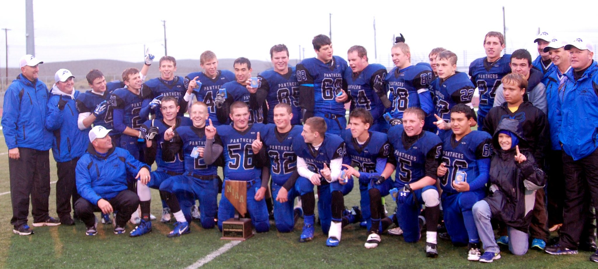 Panthers capture sixth straight state title