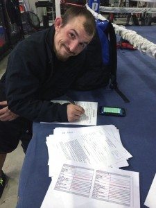 Josh Sampo, former Pahranagat Valley High wrestler and two-time Nevada state champion, has signed with the UFC.
