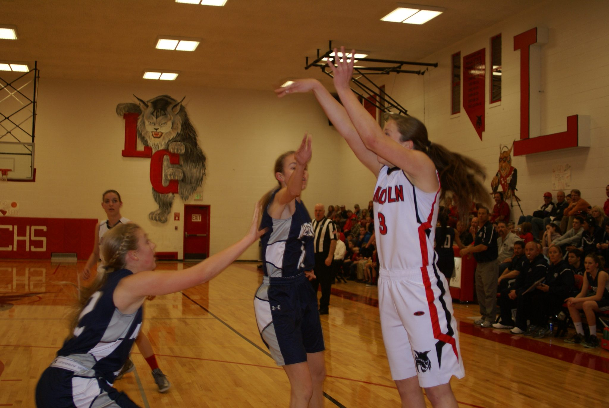 Lady Lynx snag pair of wins on home floor