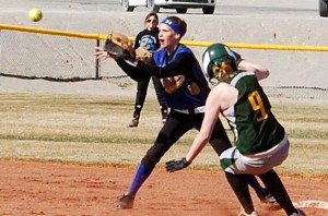 Pahranagat Valley girls softball won the first two games in their Panther Invitational tournament last weekend, but then ended up losing twice to northern