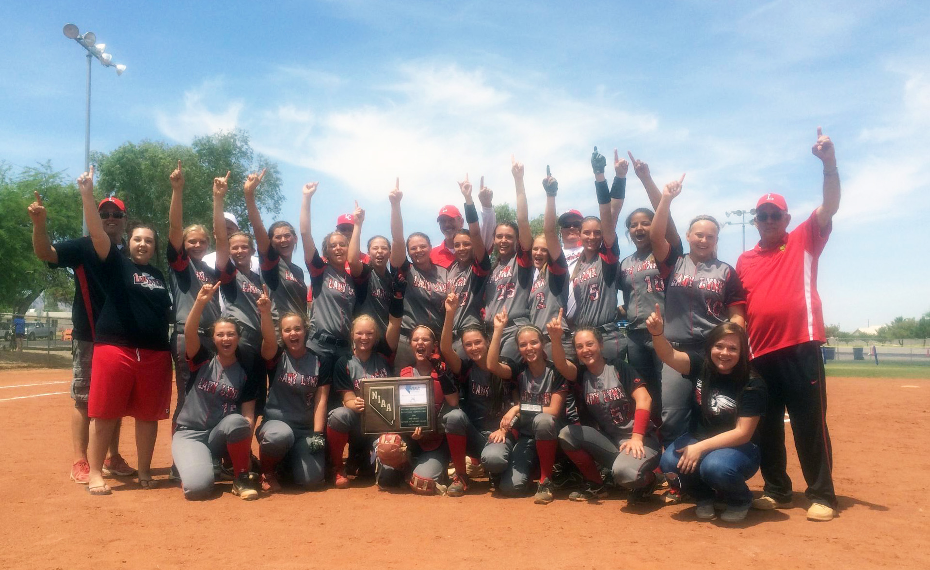 Lincoln County softball team wins fourth straight league title