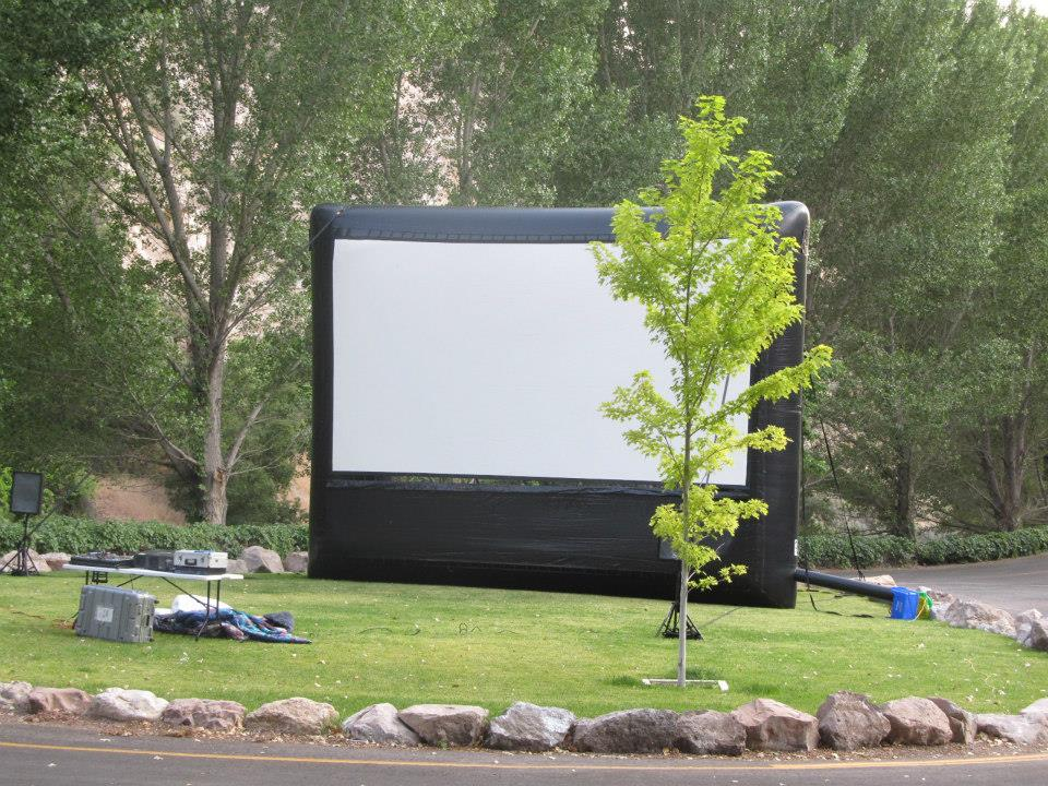 Outdoor movie theater inches closer to reality