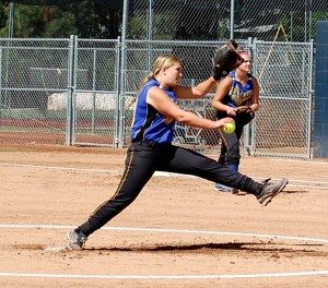 After being named to the All League First team in 2013, Pahranagat Valley senior pitcher Kennedy Huntsman was