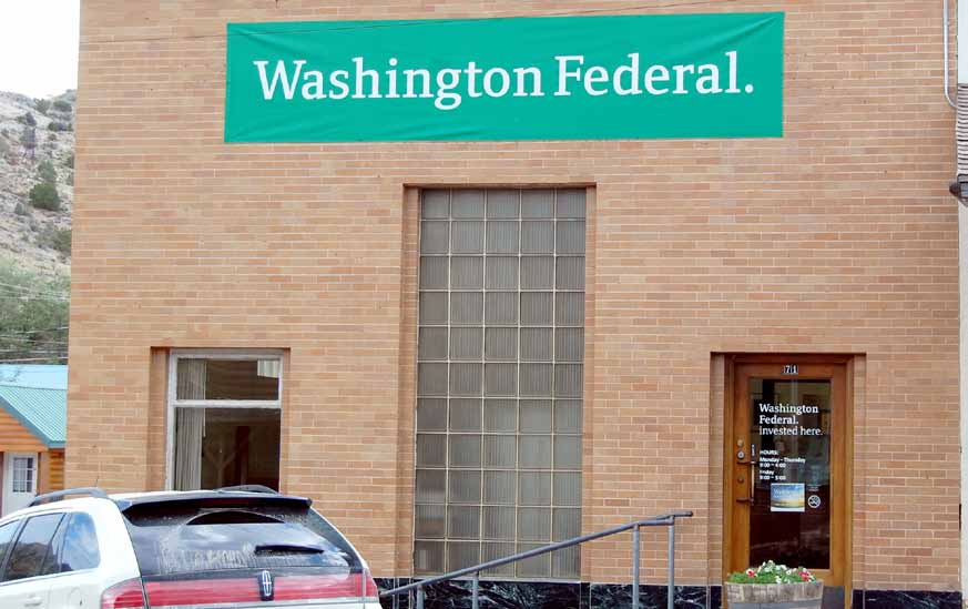 Shutting its Doors Washington Federal to close Pioche branch