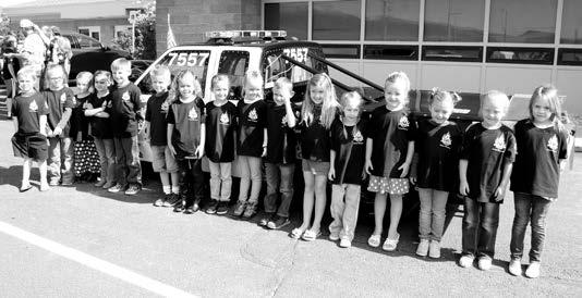 Drag racer visits schools