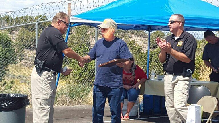 Sheriff's Deputy Umina retires