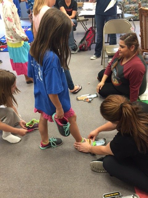 A positive day for community, students at Caliente Elementary