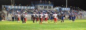 Dave Maxwell Once a corn field, Panther Alumni Stadium in Alamo is home to the Pahranagat Valley Panthers football team. The field was expanded to 100 yards, more natural grass installed and the stadium enlarged and improved in 2012.