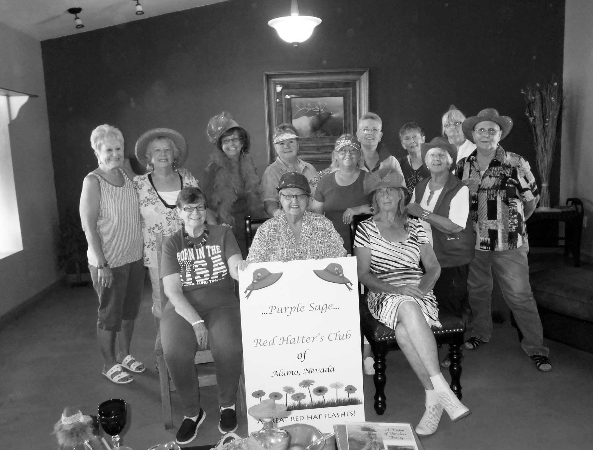 Local Red Hatter's club enjoy events, meetings and friendship