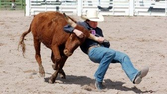 Locals compete in Alamo youth rodeo event
