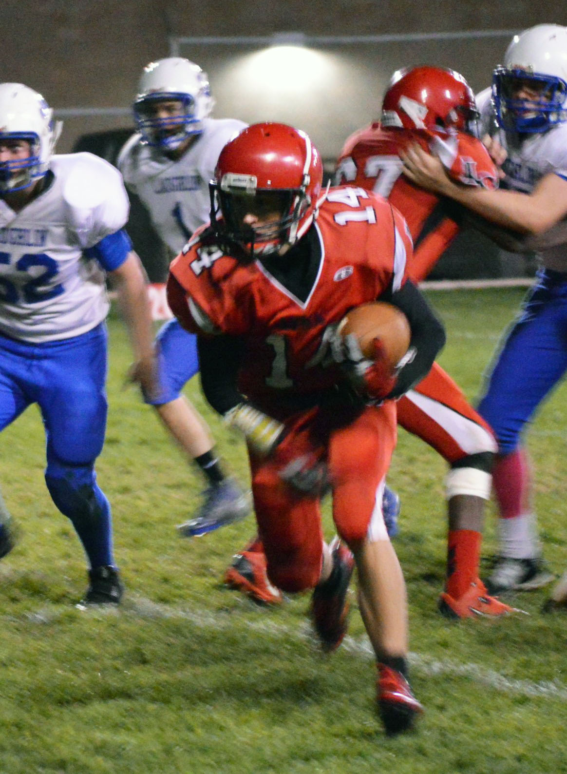 Lincoln impresses in homecoming rout Laughlin