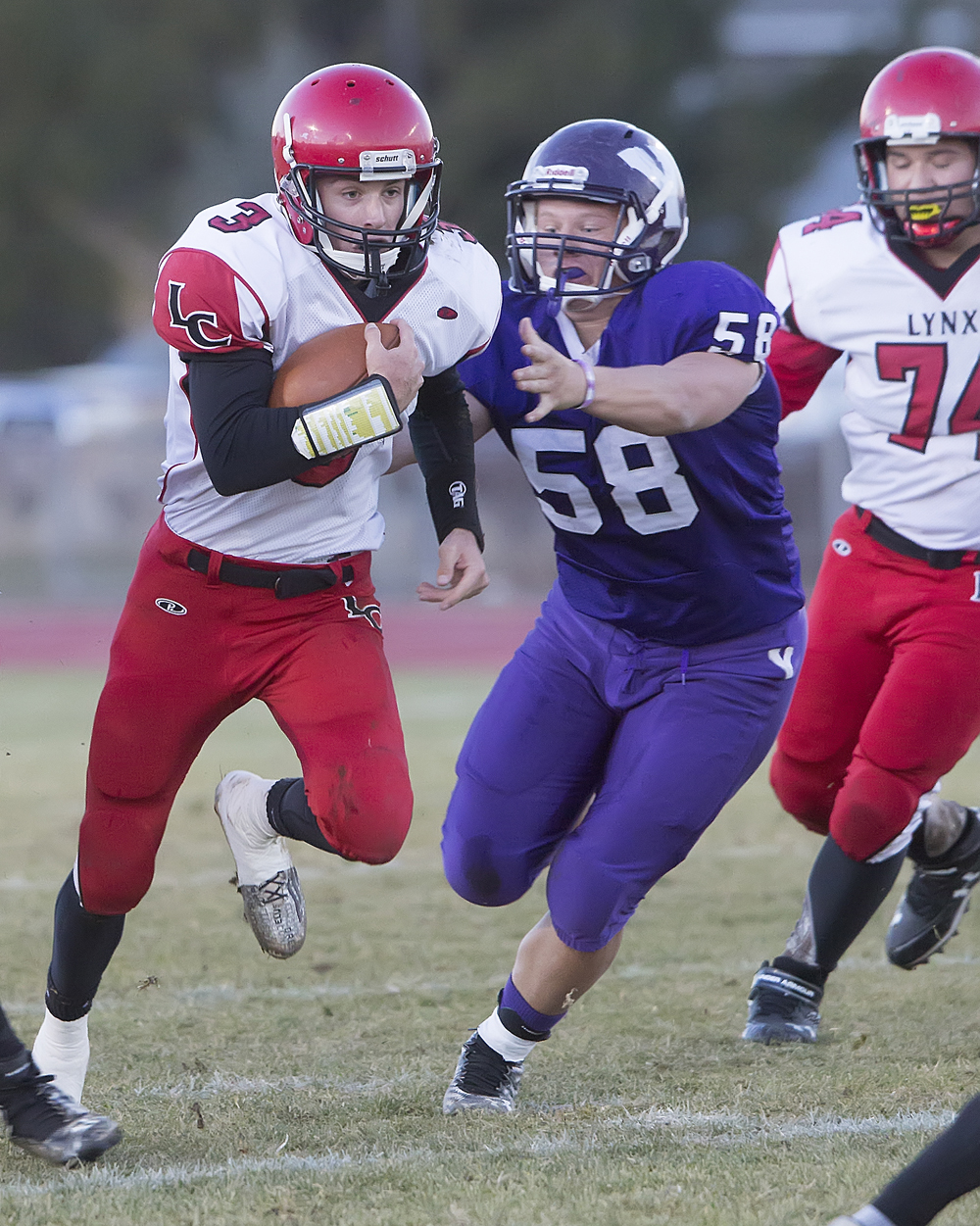 Red zone turnovers cost Lincoln County in state title game