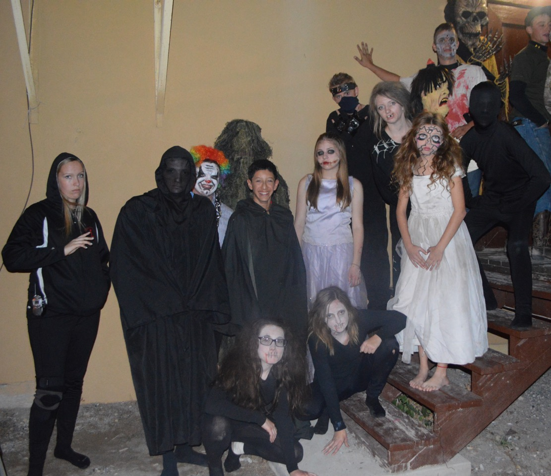 Several ghostly events in Pioche for Halloween last weekend
