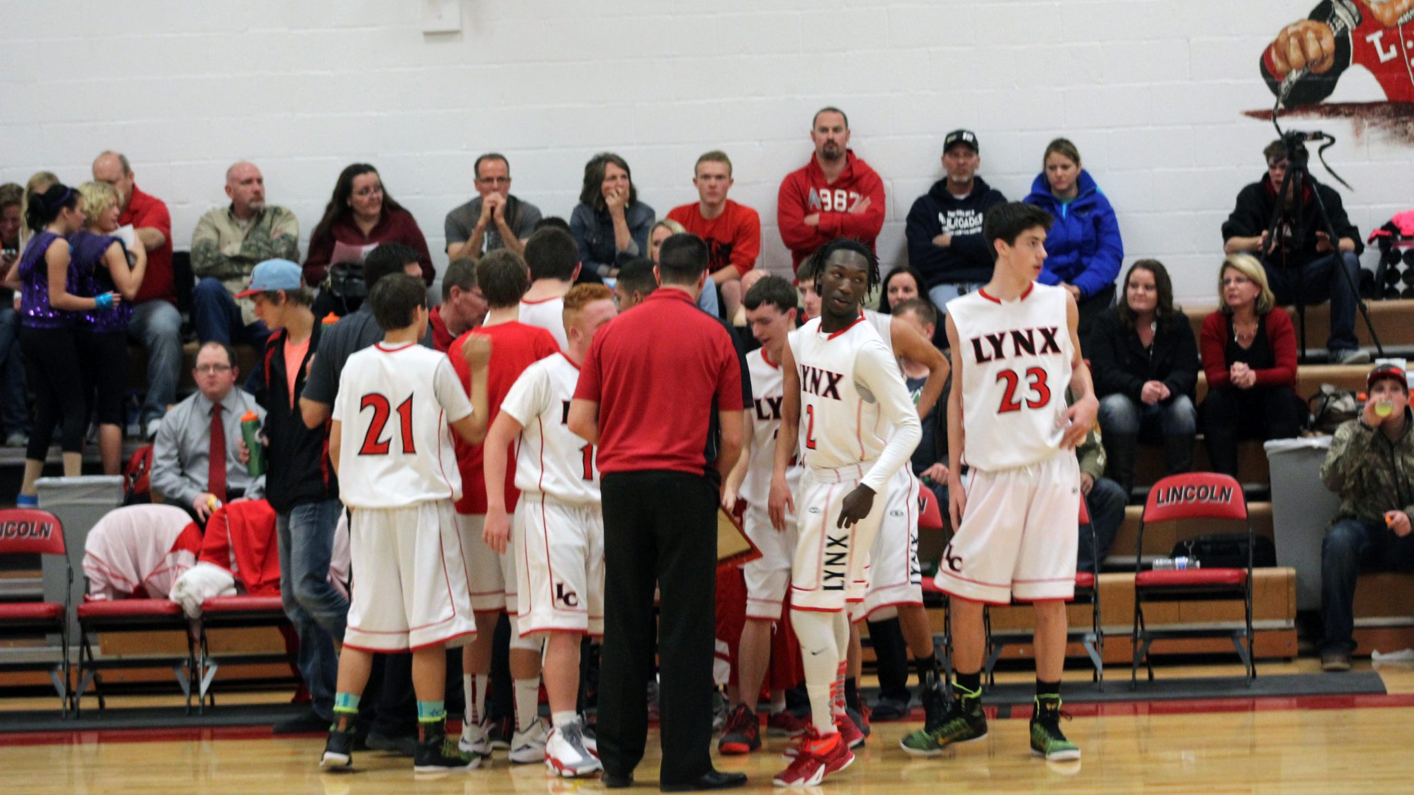 Lincoln coach seeing improvements