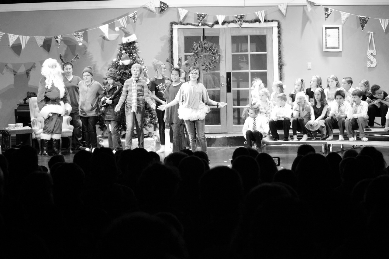 Panaca Elementary shares holiday cheer with annual program
