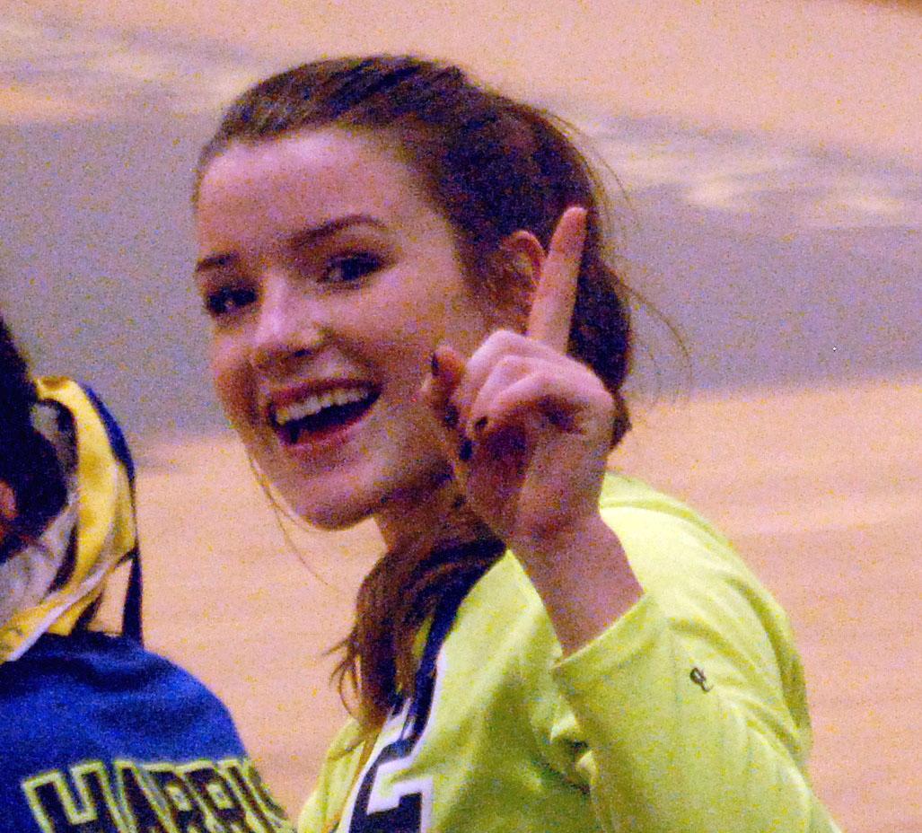 Higbee named volleyball league Co-MVP
