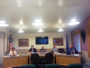 Camden Lamb -  The Lincoln County School District board met June 9 for Superintendent Steve Hansen's final board meeting.
