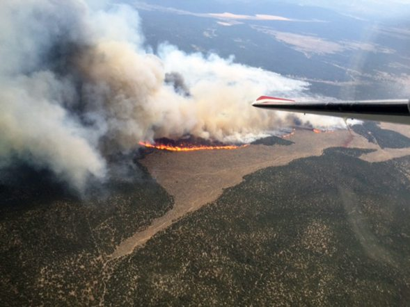 Blaze Contained Southeast of Caliente