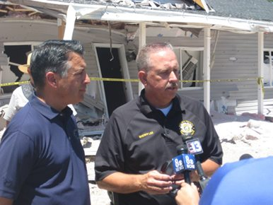 Sheriff praises volunteers and first responders