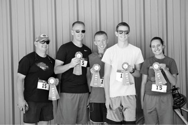 Adventure Relay Winning Team
