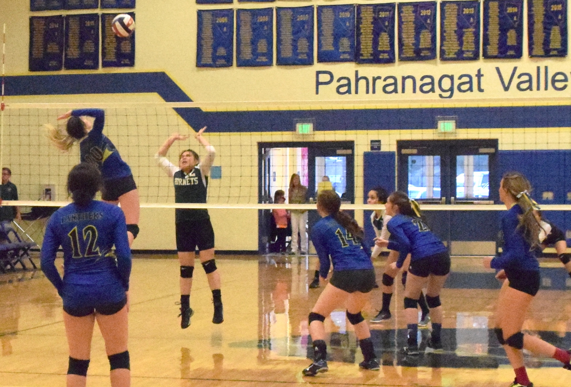 PVHS Volleyball Hosts Regional Tourney