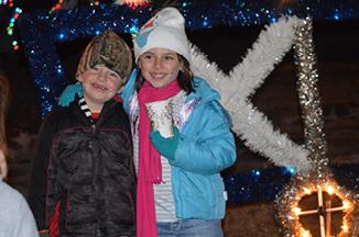 Christmas Arrives in Pioche