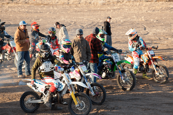 Big Turnout for Yucca Chuckers Race