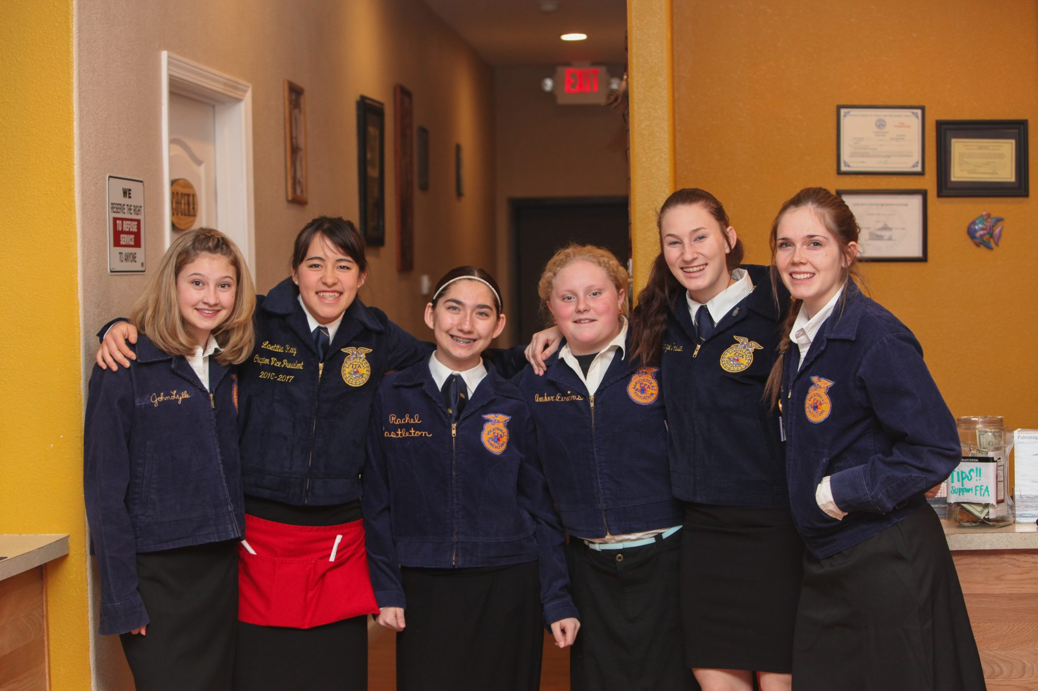 Pahranagat Valley FFA chapter holds fundraiser for state trip