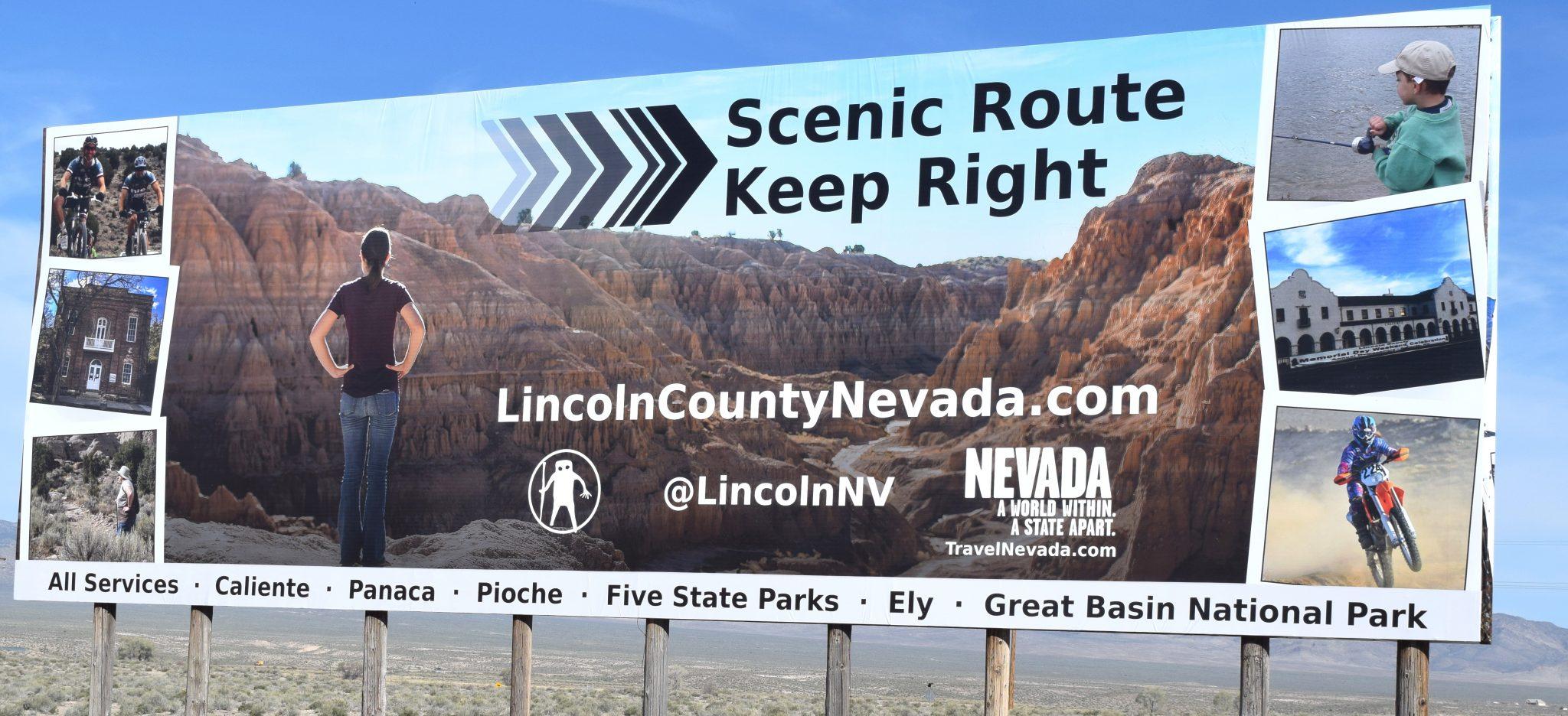 New tourism billboard installed