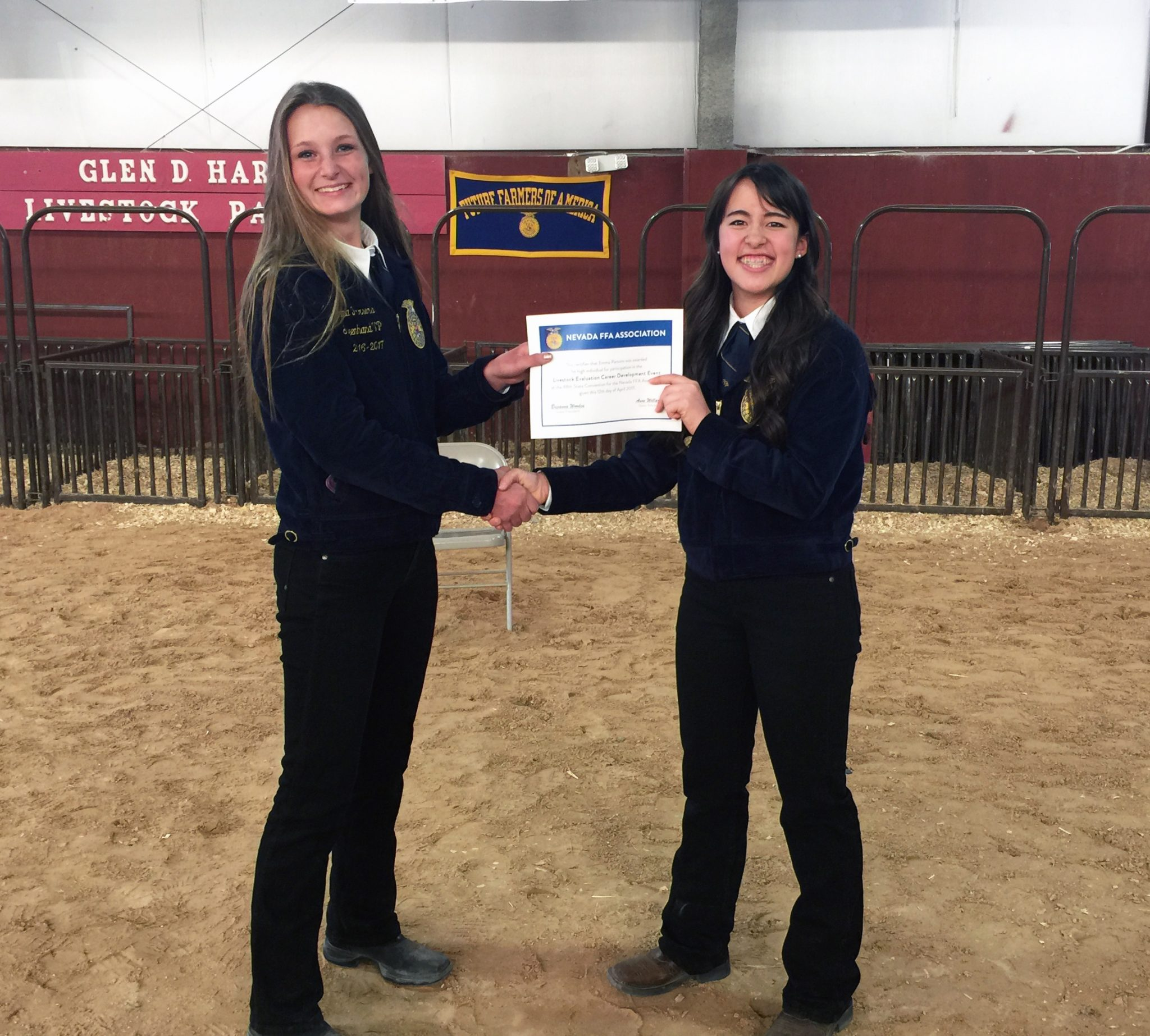 Lincoln FFA youth fare well at Clark County Fair competition