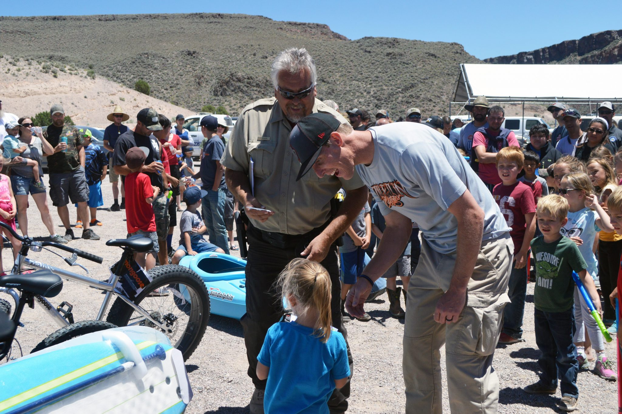 Good turnout for kids fishing event