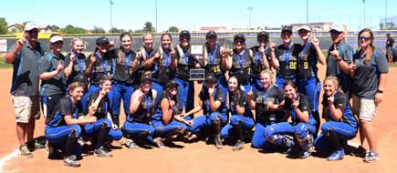 Lady Panthers make history with fifth straight state championship