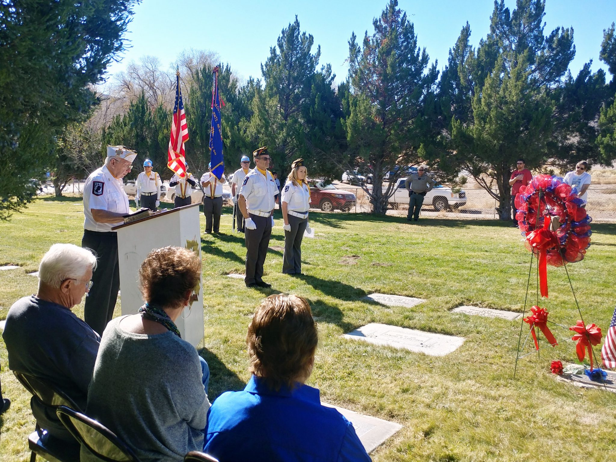 Caliente Hosts Veterans Day Events