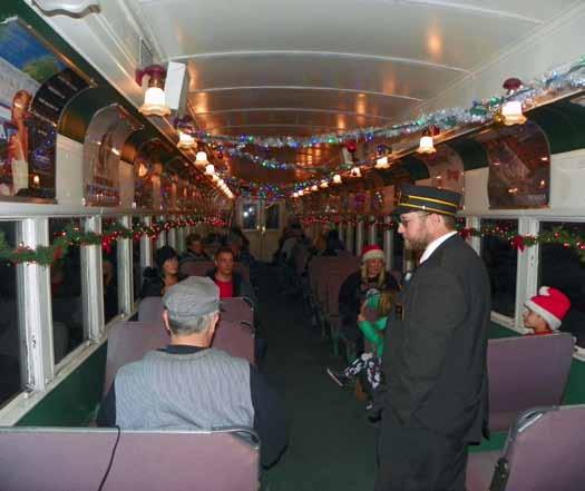Polar Express Train Rides Underway at Nevada Northern Railway