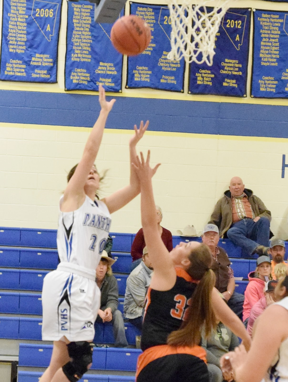 Girls Drop Home Game to Wells