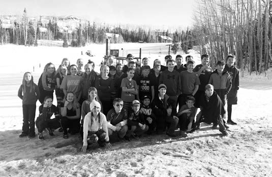 Middle Schoolers Hit the Slopes