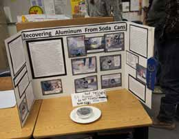 Students Showcase Science Projects