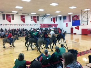 Donkey Basketball Event Raises Funds for LCHS Student Council