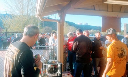 Caliente VFW and Auxiliary Host Steak Dinner for Racers