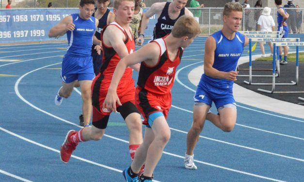 Lincoln Track Competes at Moapa